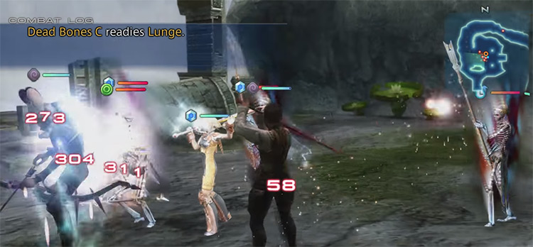 Self with 3+ Foes Present in FF12