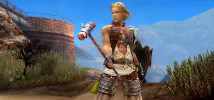 Basch Foebreaker with Hammer in FFXII: The Zodiac Age