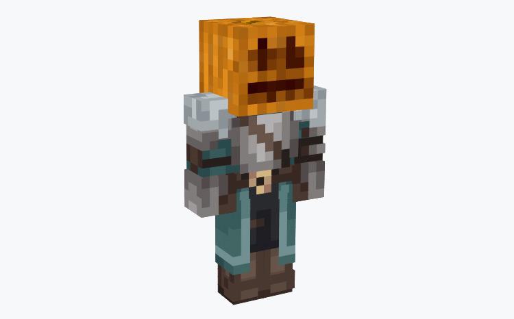 Medieval Pumpkin Character / Minecraft Skin