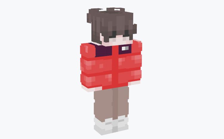 Winter Outfit Skin / Minecraft Skin