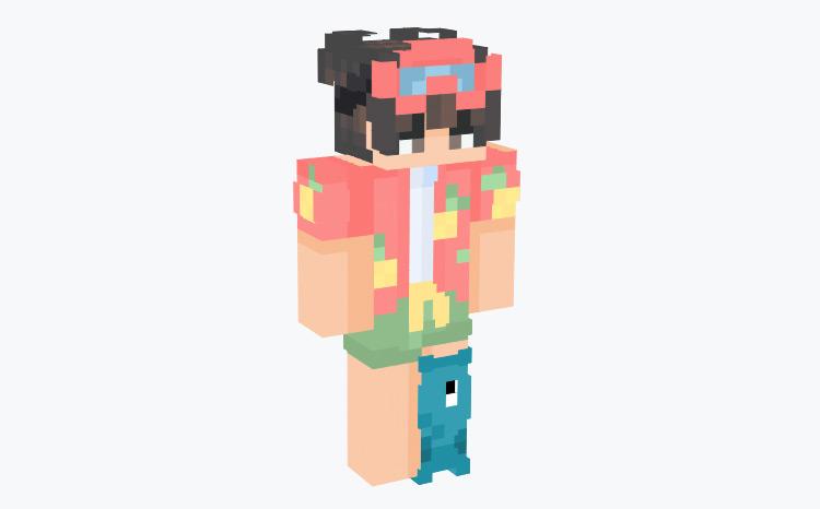 Summer Outfit Skin / Minecraft Skin