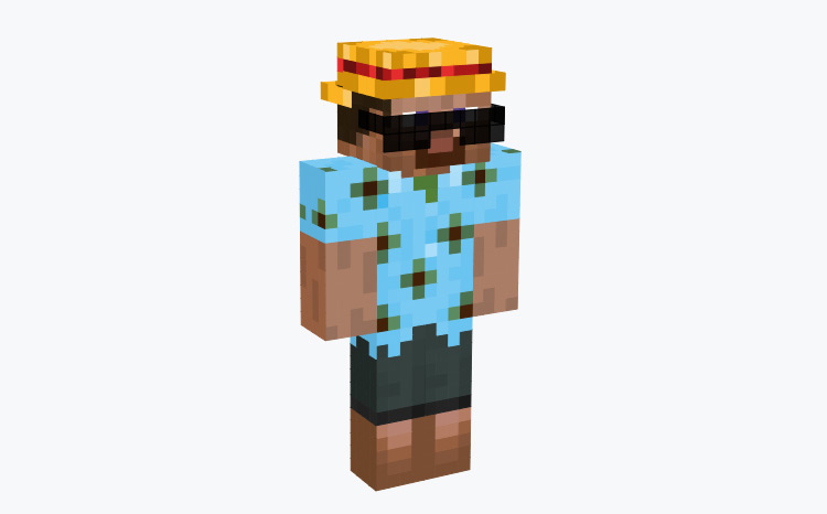 Vacation Outfit Steve / Minecraft Skin