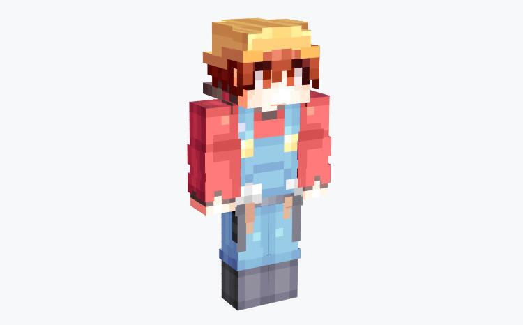 Human Builder / Minecraft Skin