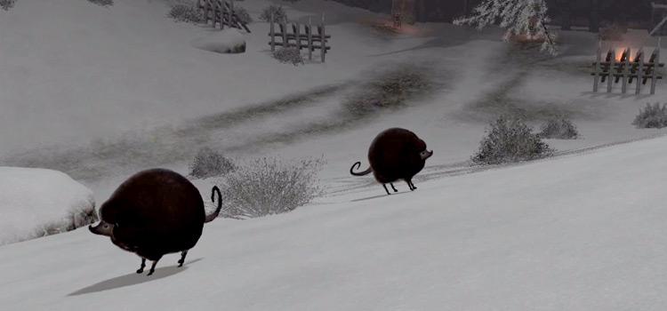 Ornery Krakul in Final Fantasy XIV