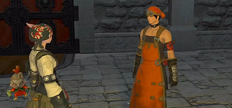 FFXIV Blacksmith Guild Screenshot