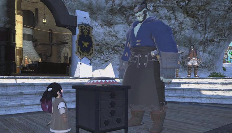 Armorer Quest Level 20 Screenshot / FFXIV