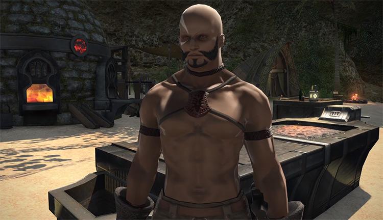Gerolt Blackthorn NPC HD Screenshot / FFXIV