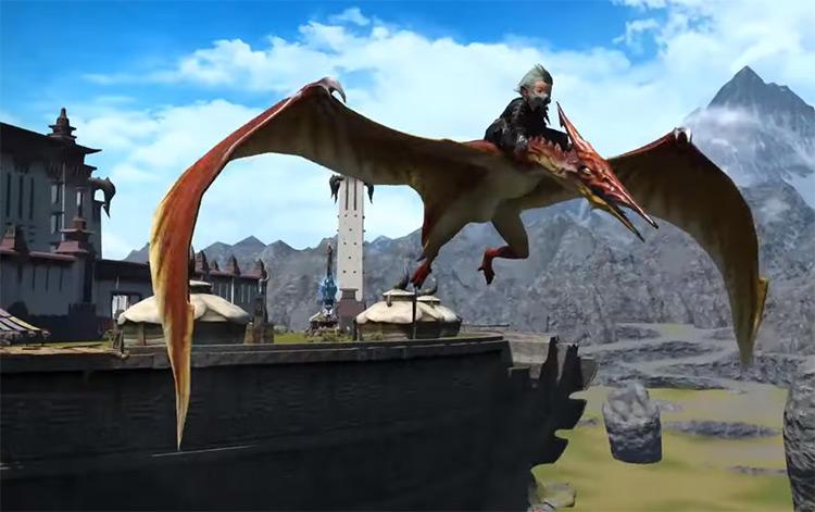 Pteranodon Mount / FFXIV