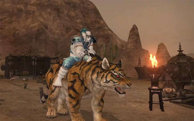 Centurio Tiger Mount / FFXIV