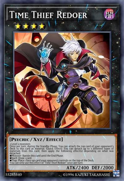 Time Thief Redoer Yu-Gi-Oh Card