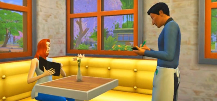 The Sims 4: Best Waiter & Waitress CC (All Free)