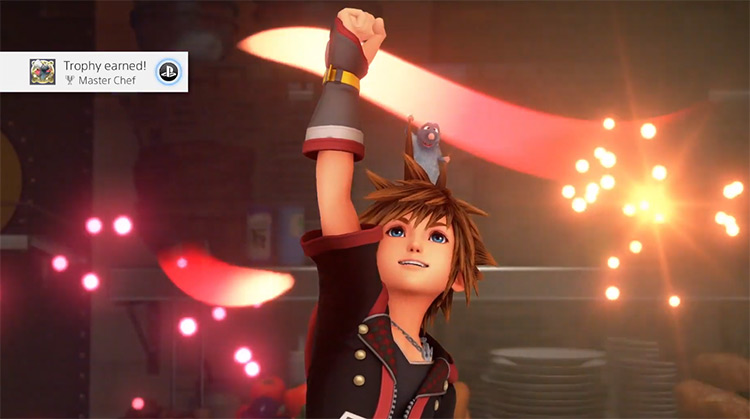 Getting Master Chef Trophy in KH3