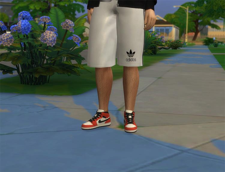 Nike Air Jordan Sneakers Set / Sims 4 CC