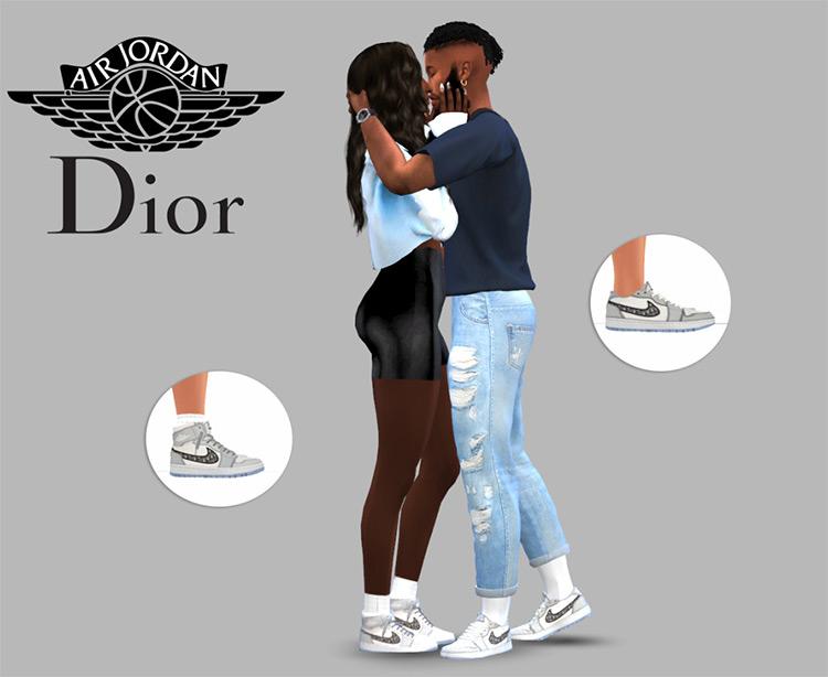 Air Dior Jordans / Sims 4 CC