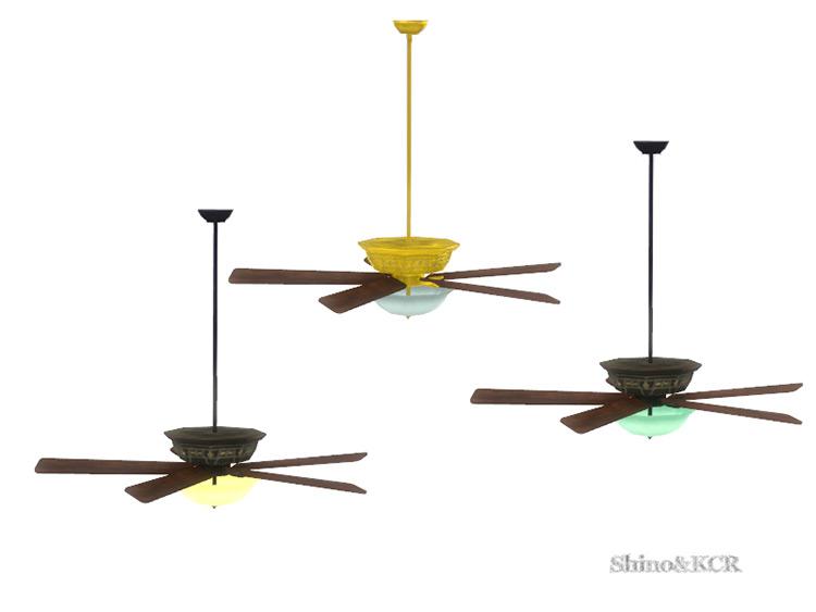 French Quarter Ceiling Fan / TS4 CC