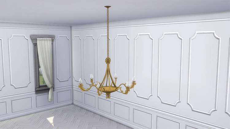 Greaves Ceiling Lights CC for The Sims 4