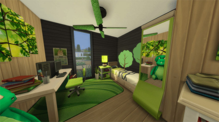 Basic Ceiling Fan CC for The Sims 4