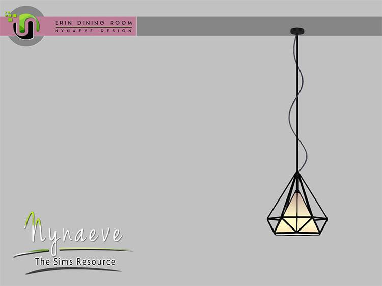 Erin Ceiling Pendant / Sims 4 CC