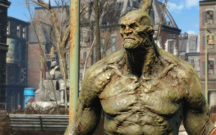 Strong companion in Fallout 4
