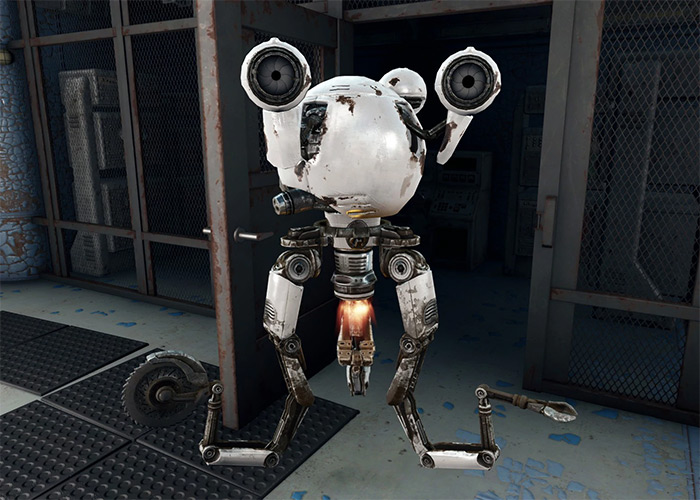 Curie companion in Fallout 4