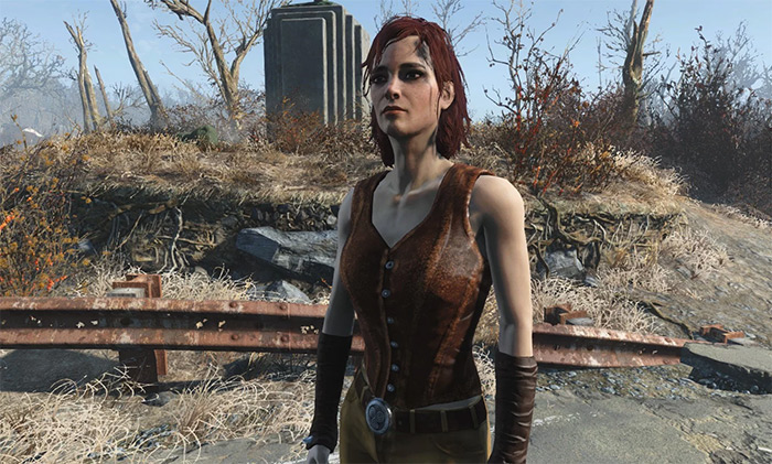 Cait companion in Fallout 4