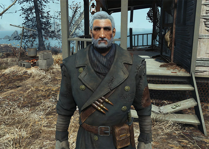 Old Longfellow companion Fallout 4