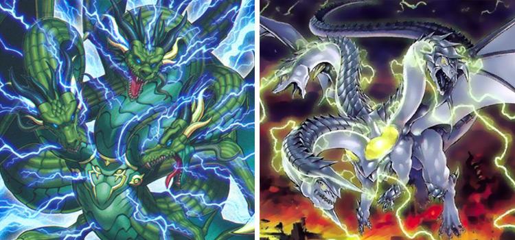 Thunder Dragon Titan & Thunder King Kaiju YGO