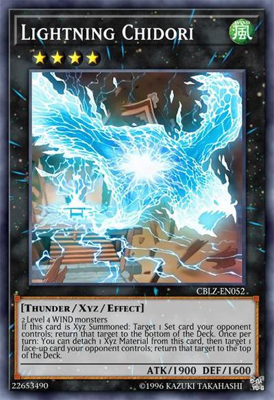 Lightning Chidori YGO Card