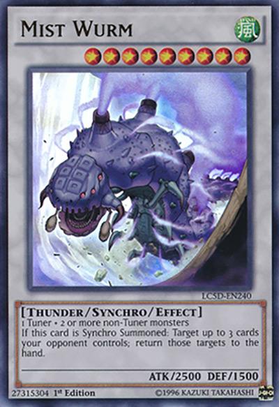 Mist Wurm Yu-Gi-Oh Card