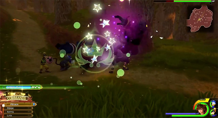 Rising Spiral Ability in KH3