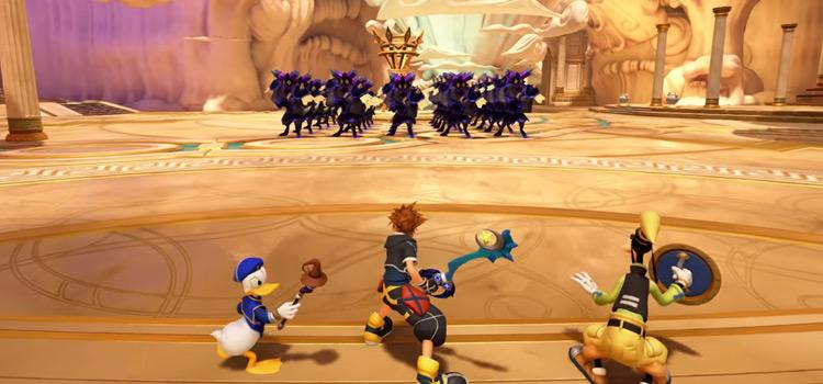 Battlegate #1 in Olympus / KH3 Screenshot