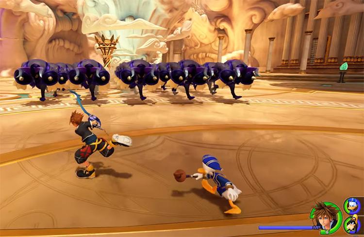 Battle Gate #1 Fight in KH3