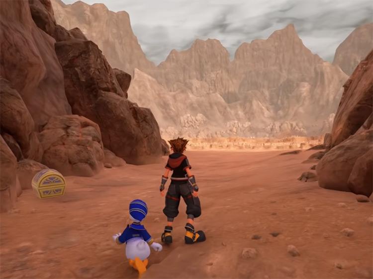 Keyblade Graveyard Screenshot from KH3