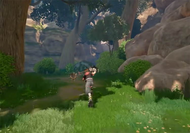 Kingdom of Corona Forest Path in KH3
