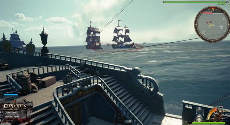 Sea Ship battle grind in KH3