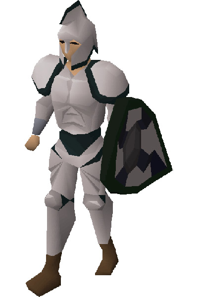 Third Age Armour Set Equipped / OSRS