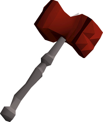 Dragon Warhammer Weapon in OSRS