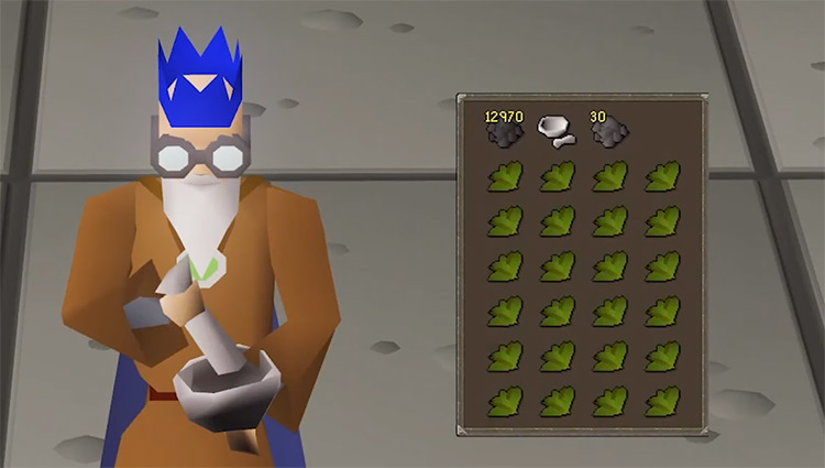 Herblore Grinding For Level 99 in OSRS