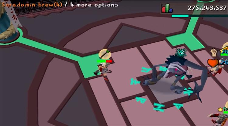 Nightmare Zone Battle Screenshot / OSRS HD