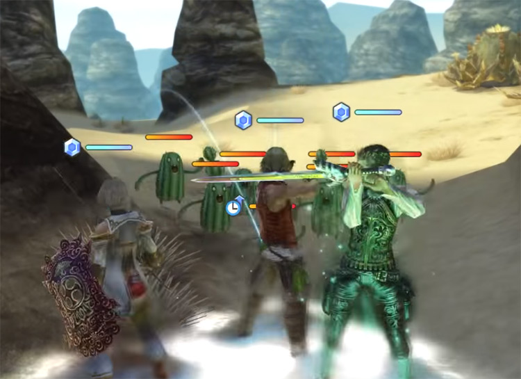 Stage 3 Cactoids in FFXII TZA