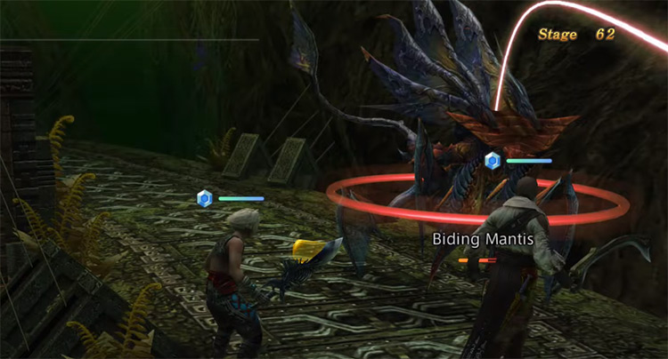 Binding Mantis in Trial Stage 62 / FFXII Screenshot