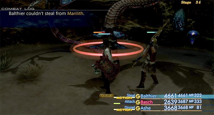 Marilith in Stage 34 Trial / FFXII Screenshot