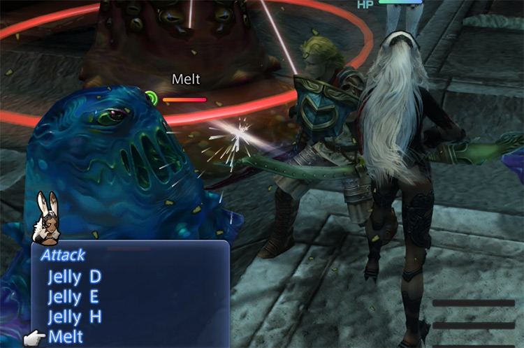 Melt Hidden Trial Steal in Stage 12 / FFXII TZA
