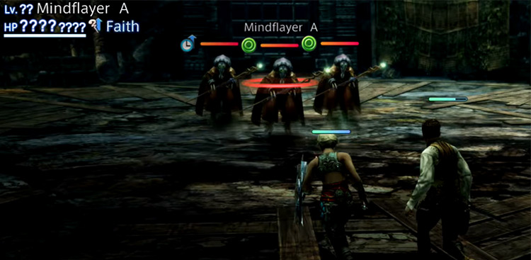Mindflayers in Stage 17 of Trial Mode / FFXII TZA