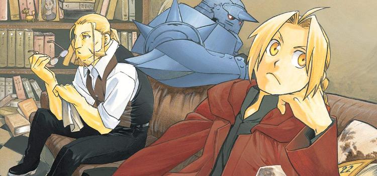 FMA Volume 22 Manga Cover