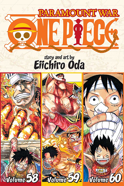 One Piece Manga Cover For Vol. 58-59-60