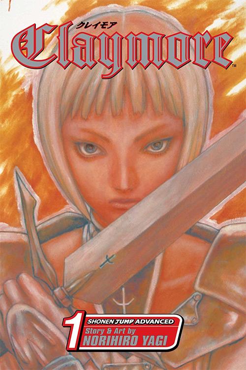 Claymore Manga Vol. 1 Cover