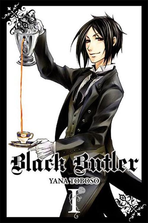 Black Butler Volume 1 Cover