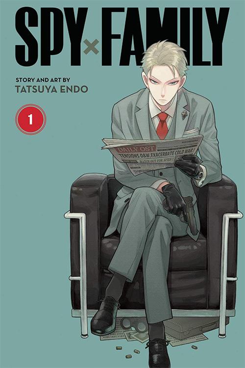 Spy x Family Manga Vol. 1 Cover