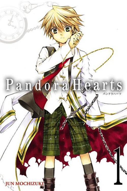 Pandora Hearts Manga Cover